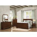 Abbeville Brown Cherry Finish Bedroom Collection 1